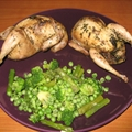Roasted Quail