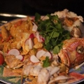 Roasted Red Snapper with Thai Basil