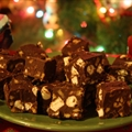 Rocky Road Semi-Dark Fudge