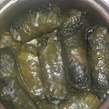 Rolled Stuffed Grape Leaves (Lebanese)