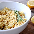 Rosemary Lemon Orzo Pilaf