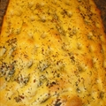 Rosemary/sage/garlic Focaccia Nicole