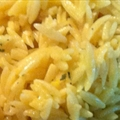 Saffron Orzo