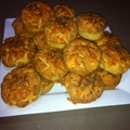 Sajtos pogcsa - Hungarian Cheese Scones
