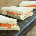 Salmon and cream cheese in five easy steps!