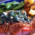 Salmon- Mascarpone + Spinach