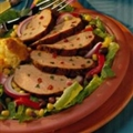 Santa Fe Salad with Grilled Pork Tenderloin