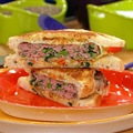 Sausage and Broccoli Rabe Patty Melts