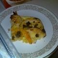 Sausage, Egg & Biscuit Casserole with Sage Gravy