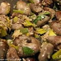Sauteed Chicken Hearts