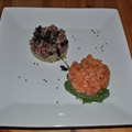 SauThon tartare (Salmon & Tuna tartare)