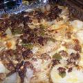 Scalloped Potato and Creamy Ground Beef Casserole