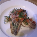 Sea Bass with Sauce Vierge