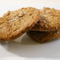 Sea Salt Ginger Cookies