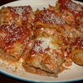 Seafood Lasagna Rollups