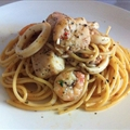 Spicy Seafood Pasta