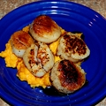 Seared Scallops with Butternut Squash