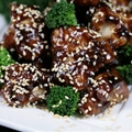 Sesame Chicken Yaki Bone Suckin Style