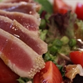 Sesame-Crusted Ahi Salad