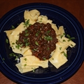 Short Rib Ragu with Pappardelle and Pecorino Romano