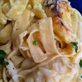 Pasta - Crab or Shrimp Fettuccine Alfredo