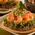 SHRIMP TOSTADAS