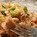 Simple Chicken Pad Thai