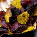 Simple Salted Beet Chips