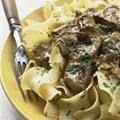 Slow-Cooker Beef Stroganoff