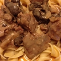 Slow Cooker Beef Stroganoff I
