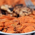 Smoke Chile Scalloped Sweet Potatoes