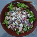 Smoked Turkey Salad with Bing Cherries And Hazelnuts