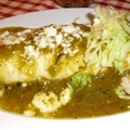 Smothered Burritos with Green Chili