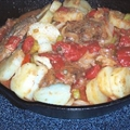 Smothered Steak and Potatoes