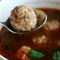 Sopa De Albondigas (Mexican Meatball Soup)