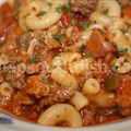 Southern Beef and Sausage Goulash