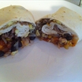Southwestern breakfast burrito
