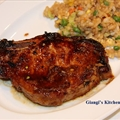 Soy Glazed Pork Chops