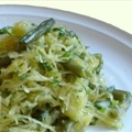 Spaghetti Squash and Green Beans