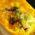 Spaghetti Squash With Garlic And Oil
