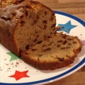 Spiced sultana loaf cake