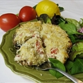 Spicy Crab Portobellos