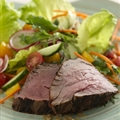 Spicy Filet Mignon with Ginger-lime Salad