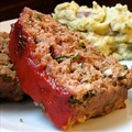 Spicy Meatloaf with Chipotle Sauce