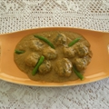 Spinach Kofta Curry