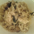 Spinach Mushroom Risotto