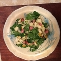 Spinach, Pear And Bacon Salad