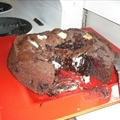 Squidgy Chocolate Cake with Berries