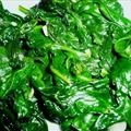 Stacy's Fried Spinach