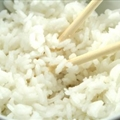 Steamed White Rice (Rice Cooker)